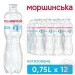 Вода Моршинская негазированная 0,75л