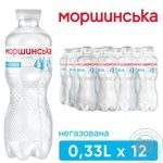 Вода мінеральна Моршинська негазована 0,33л