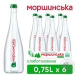 Минеральная вода Моршинская Премиум слабогазированная 0,75л