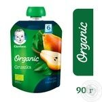 Пюре Gerber органічна груша 90г - купити, ціни на МегаМаркет - фото 4