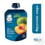 Пюре Gerber яблуко персик 90г - купити, ціни на Novus - фото 2