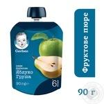 Пюре Gerber Яблоко и груша для детей с 6 месяцев 90г - купить, цены на Восторг - фото 3