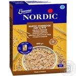 Пластівці Nordic вівсяно-житні з висівками грубого помолу  500г
