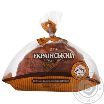 Хліб Київхліб Український Столичний нарізка 475г - купити, ціни на CітіМаркет - фото 1
