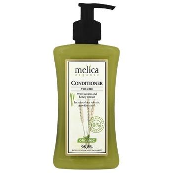 Бальзам-кондиціонер Melica organic для збільшення об'єму волосся 300мл - купити, ціни на МегаМаркет - фото 1