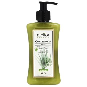 Бальзам-кондиционер Melica organic для блеска волос 300мл - купить, цены на Novus - фото 1