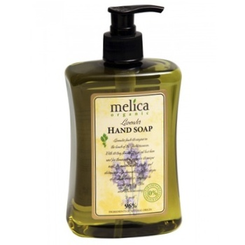 Мыло жидкое Melica organic Лаванда 500мл - купить, цены на Ашан - фото 1