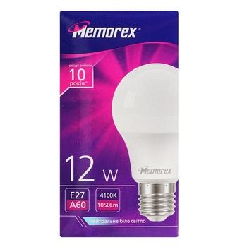 Memorex LED Lamp A60 12W E27 4100K - buy, prices for Auchan - photo 1