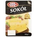 Cheese Mlecovita Sokol sliced 45% 150g
