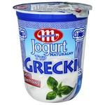 Йогурт Mlekovita Греческий натуральный 9% 400г