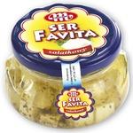 Mlekovita Favita Cubes With Herbs Cheese 100g