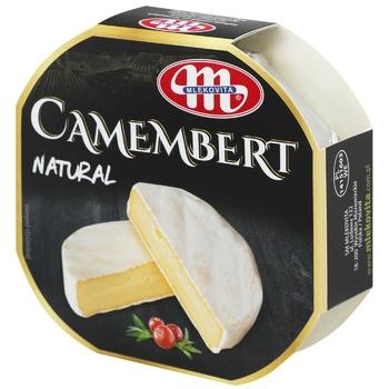 Сыр Mlekovita Камамбер 51% коровье молоко 120г - купить, цены на Фуршет - фото 1