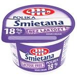 Mlekovita Sour Cream Lactose-free 18% 200g