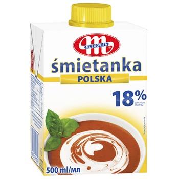 Mlekovita Cream 18% 0.5L