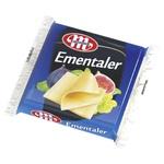 Сыр Mlekovita Эменталер плавленый 130г - купить, цены на Фуршет - фото 1