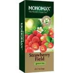 Чай зеленый Мономах с земляникой пакетированный 25шт 37,5г