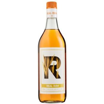 Ром Real Rum Spiced 37.5% 1л - купить, цены на ЕКО Маркет - фото 1