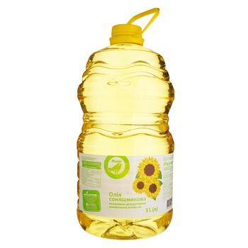 Auchan sunflower oil refined 5l