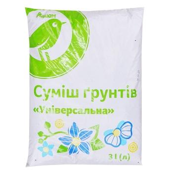 Auchan Universal Soil mixture 3l - buy, prices for Auchan - image 1
