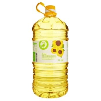 Auchan Refined Sunflower Oil - buy, prices for Auchan - photo 1