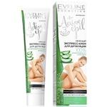 Экспресс-крем Eveline Cosmetics для депиляции рук подмышек и бикини для чувствительной кожи с аоле вера 125мл
