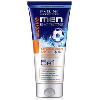Бальзам Eveline Cosmetics Men extreme после бритья 5в1 200мл - купить, цены на Ашан - фото 1