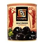 Маслины Ellada с косточкой черные 850мл