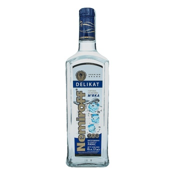 Nemiroff Delikat Soft Special Vodka 40% 0,7l - buy, prices for Auchan - image 4