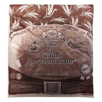 Хліб Короваєво Салтівський 1кг - купить, цены на Ашан - фото 1