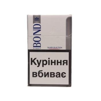 Сигареты Bond Street Silver Selection - купить, цены на Фуршет - фото 7