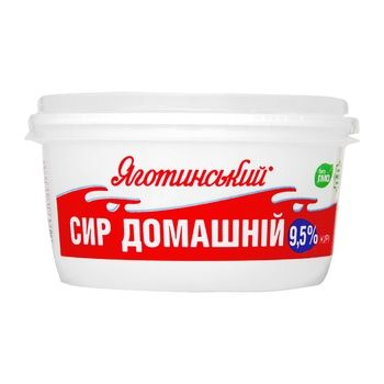 Творог Яготинский Домашний 9.5% 370г