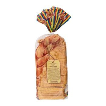 Хліб Нове Діло тостовий нарізний 450г - купить, цены на Ашан - фото 1