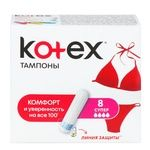 Kotex Ultra Sorb Super For Women Tampons