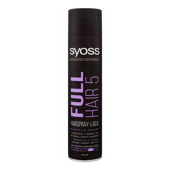 SYOSS Full hair 5 Hairspray extra strong fixation 400ml - buy, prices for MegaMarket - photo 1
