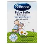 Мыло детское Bubchen для чувствительной кожи с экстрактом ромашки 125г