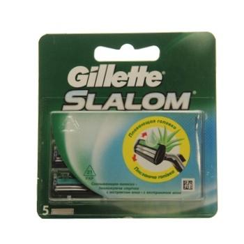 Картриджи для бритья Gillette Slalom сменные с увлажняющей лентой 5шт - купить, цены на Таврия В - фото 5