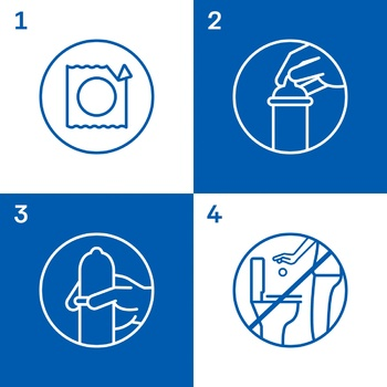 Презервативы Durex Classic классические с накопителем и силиконовой смазкой 3шт - купить, цены на Ашан - фото 3