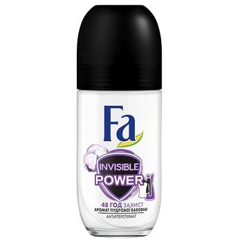 Дезодорант-антиперспирант Fa Sport Invisible для женщин 50мл - купить, цены на Ашан - фото 1