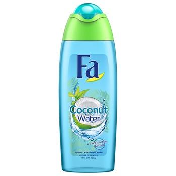 Гель для душа Fa Кокосовая вода 250мл - купить, цены на Novus - фото 1