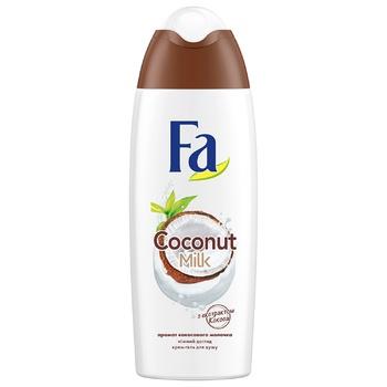 Гель для душу Fa Coconut Milk 250мл - купити, ціни на Novus - фото 1
