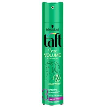 Лак для волос Schwarzkopf Taft Volume Fresh для склонных к жирности волос 250мл