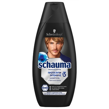 Shauma Intensive For Man Anti-Dandruff Hair Shampoo 400ml - buy, prices for Auchan - image 1