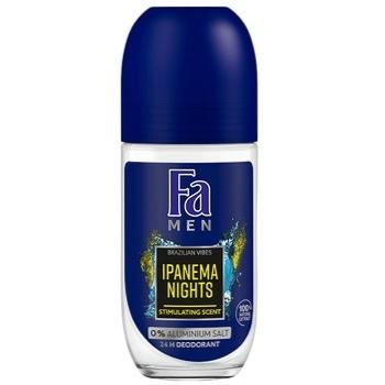 Дезодорант-ролик Fa Men Ритмы Бразилии Ipanema Nights 50мл