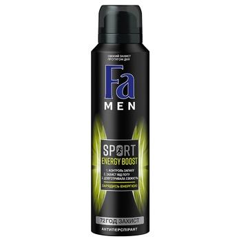 Дезодорант Fa Men Sport Energy Boost 150мл - купить, цены на Novus - фото 1