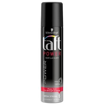 Лак для волосся Taft Power Фіксація 5 75мл - купити, ціни на ЕКО Маркет - фото 1