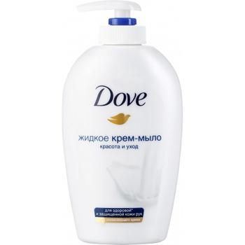 Крем-мыло Dove Красота и уход жидкое 250мл - купить, цены на Novus - фото 1