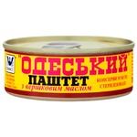 Паштет Онісс Одеський з вершковим маслом 100г