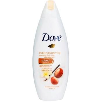 Крем-гель для душу Dove Масло Ши та пряна ваніль 500мл - купити, ціни на Ашан - фото 1