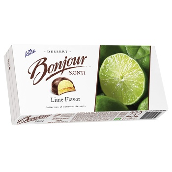 Десерт Konti Bonjour Лайм 232г - купить, цены на ЕКО Маркет - фото 1
