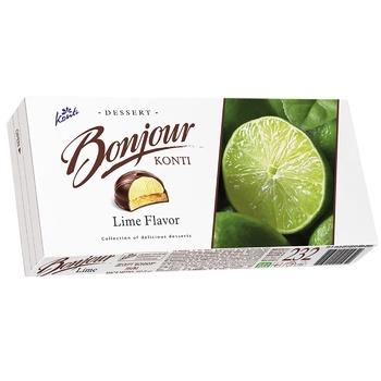 Десерт Konti Bonjour Лайм 232г - купить, цены на Пчёлка - фото 6